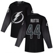 Cheap Adidas Lightning #44 Jan Rutta Black Alternate Authentic Youth Stitched NHL Jersey