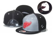 Wholesale Cheap NHL Detroit Red Wings hats 1