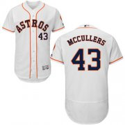 Wholesale Cheap Astros #43 Lance McCullers White Flexbase Authentic Collection Stitched MLB Jersey