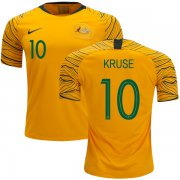 Wholesale Cheap Australia #10 Kruse Home Soccer Country Jersey