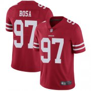 Wholesale Cheap Nike 49ers #97 Nick Bosa Red Team Color Men's Stitched NFL Vapor Untouchable Limited Jersey
