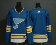Wholesale Cheap Youth St. Louis Blues Blank Blue Alternate Stitched NHL Jersey