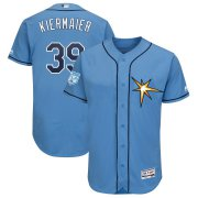 Wholesale Cheap Rays #39 Kevin Kiermaier Light Blue 2019 Spring Training Flex Base Stitched MLB Jersey