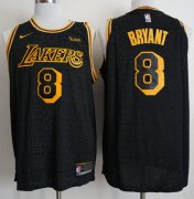 Wholesale Cheap Nike Lakers #8 Kobe Bryant Black NBA Swingman City Edition Jersey