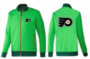 Wholesale Cheap NHL Philadelphia Flyers Zip Jackets Green