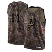 Wholesale Cheap Men's Nike San Antonio Spurs #11 Bryn Forbes Camo Basketball Swingman Realtree Collection Jersey