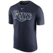 Wholesale Cheap Tampa Bay Rays Nike Legend Wordmark 1.5 Performance T-Shirt Navy
