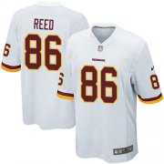 Wholesale Cheap Nike Redskins #86 Jordan Reed White Youth Stitched NFL Elite Jersey
