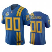 Wholesale Cheap Jacksonville Jaguars Custom Royal Vapor Limited City Edition NFL Jersey