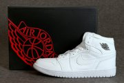 Wholesale Cheap Air Jordan 1 Mid Shoes White/Cool Grey