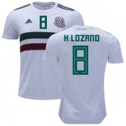 Wholesale Cheap Mexico #8 H.Lozano Away Kid Soccer Country Jersey