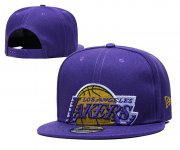 Wholesale Cheap 2021 NBA Los Angeles Lakers Hat TX322