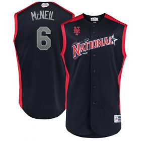 Wholesale Cheap Mets #6 Jeff McNeil Navy 2019 All-Star National League Stitched MLB Jersey