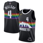 Wholesale Cheap Nuggets #4 Paul Millsap Black Basketball Swingman City Edition 2019-20 Jersey