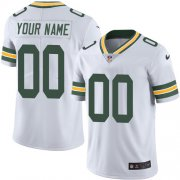 Wholesale Cheap Nike Green Bay Packers Customized White Stitched Vapor Untouchable Limited Youth NFL Jersey