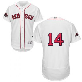 Wholesale Cheap Red Sox #14 Jim Rice White Flexbase Authentic Collection 2018 World Series Champions Stitched MLB Jersey