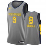Wholesale Cheap Nike Grizzlies #9 Andre Iguodala Gray City Edition Men's NBA Jersey