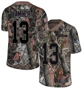 Wholesale Cheap Nike Broncos #13 KJ Hamler Camo Men\'s Stitched NFL Limited Rush Realtree Jersey