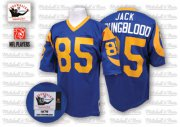 Wholesale Cheap Mitchell And Ness 1979 Rams #85 Jack Youngblood Blue Throwback Stitched NFL Jersey