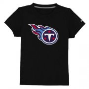Wholesale Cheap Tennessee Titans Sideline Legend Authentic Logo Youth T-Shirt Black