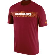Wholesale Cheap Washington Redskins Nike Sideline Seismic Legend Performance T-Shirt Burgundy