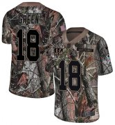 Wholesale Cheap Nike Bengals #18 A.J. Green Camo Men's Stitched NFL Limited Rush Realtree Jersey