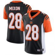 Wholesale Cheap Nike Bengals #28 Joe Mixon Black Team Color Youth Stitched NFL Vapor Untouchable Limited Jersey