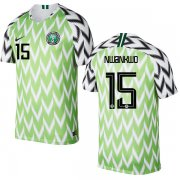 Wholesale Cheap Nigeria #15 Nwankwo Home Soccer Country Jersey