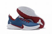 Wholesale Cheap Nike Kobe Mamba Focus 5 Shoes Blue Red