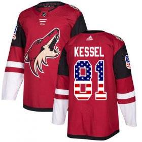 Wholesale Adidas Coyotes #55 Jason Demers Maroon Home Authentic Stitched NHL Jersey