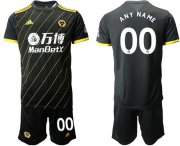 Wholesale Cheap Wolves Personalized Away Soccer Club Jersey