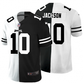 Cheap Philadelphia Eagles #10 Desean Jackson Men\'s Black V White Peace Split Nike Vapor Untouchable Limited NFL Jersey