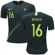 Wholesale Cheap Australia #16 Behich Away Soccer Country Jersey