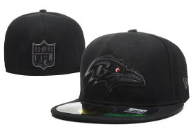 Wholesale Cheap Baltimore Ravens fitted hats 03
