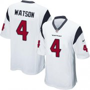 Wholesale Cheap Nike Texans #4 Deshaun Watson White Youth Stitched NFL Elite Jersey