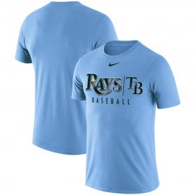 Wholesale Cheap Tampa Bay Rays Nike 2019 Practice T-Shirt Blue