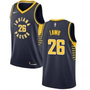 Wholesale Cheap Nike Pacers #26 Jeremy Lamb Navy Blue NBA Swingman Icon Edition Jersey