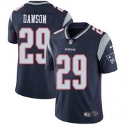 Wholesale Cheap Nike Patriots #29 Duke Dawson Navy Blue Team Color Men's Stitched NFL Vapor Untouchable Limited Jersey
