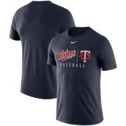 Wholesale Cheap Minnesota Twins Nike MLB Practice T-Shirt Navy