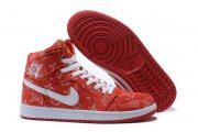 Wholesale Cheap Air Jordan 1 Retro Shoes Red/White
