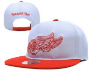 Wholesale Cheap Detroit Red Wings Snapback Ajustable Cap Hat YD 2