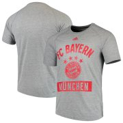 Wholesale Cheap Bayern Munich adidas Ultimate Pass T-Shirt Heathered Gray