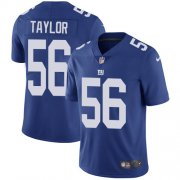 Wholesale Cheap Nike Giants #56 Lawrence Taylor Royal Blue Team Color Youth Stitched NFL Vapor Untouchable Limited Jersey