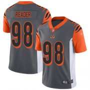 Wholesale Cheap Nike Bengals #98 D.J. Reader Silver Youth Stitched NFL Limited Inverted Legend Jersey