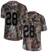 Wholesale Cheap Nike Panthers #28 Mike Davis Camo Men's Stitched NFL Limited Rush Realtree Jersey