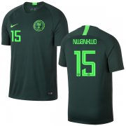 Wholesale Cheap Nigeria #15 Nwankwo Away Soccer Country Jersey