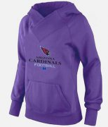 Wholesale Cheap Women's Arizona Cardinals Big & Tall Critical Victory Pullover Hoodie Purple