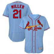 Wholesale Cheap Cardinals #21 Andrew Miller Light Blue Flexbase Authentic Collection Stitched MLB Jersey