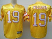 Wholesale Cheap Buccaneers #19 Mike Williams Yellow Stitched NFL Jersey
