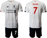 Wholesale Cheap Liverpool #7 Milner Away Soccer Club Jersey